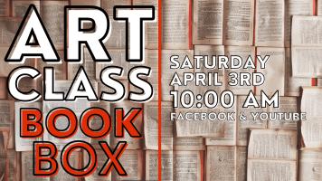 Children's Art Class:  Book Box