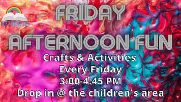 Friday Afternoon Fun @ Harlingen Public Library Children's Area