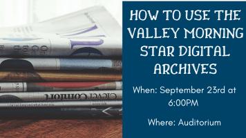 Digital Archives @ Harlingen Public Library - Auditorium