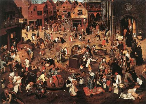 The Battle of Carnival and Lent