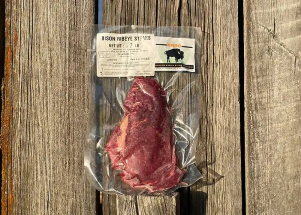 Harlow Ranch - Bison Ribeye Steaks