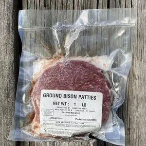 Harlow Ranch - Ground Bison Patties 1 pound