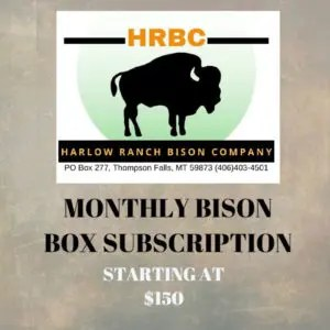 Harlow Ranch - Bison Subscription
