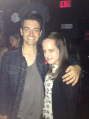 With Chris Carrabba (Dashboard Confessional)