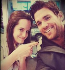 With Actor Kevin McGarry