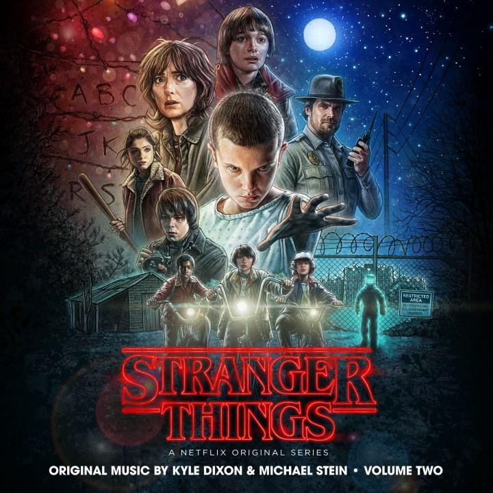 Stranger Things Soundtrack Volume 2 Album Art