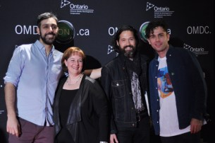 The Arkells With OMDC President