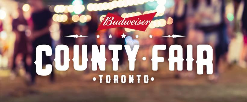 Announced: Budweiser County Fair in Toronto on July 14th & 15th