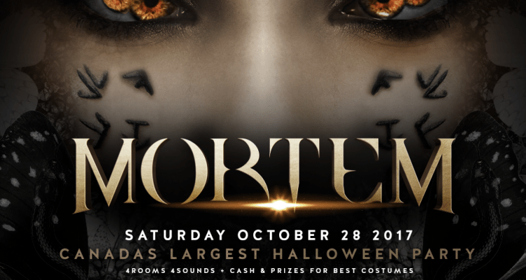 Mortem Halloween at REBEL-October 28 2017
