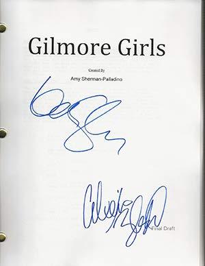 gilmore girls script