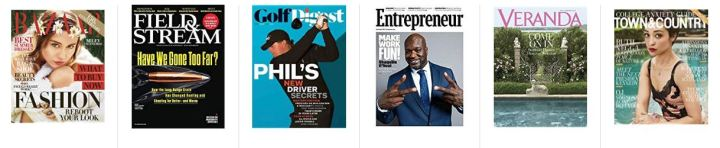 Amazon Newsstand Deals Spotlight: Summer Reading Magazines