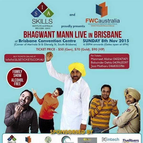 Bhagwant Mann Live in Brisbane