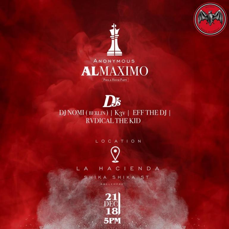 Anonymous – Al Maxima