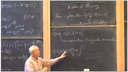 Lecture 17 - Einstein,Podolski,Rosen Experiment and Bell's Inequality
