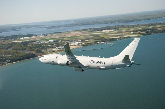 P-8A arrival to Naval Air Station Patuxent River