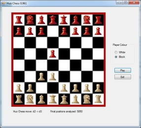 How to code a chess program in one day. (C# and Java examples)