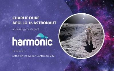 Astronaut to be keynote speaker thanks to Harmonic's rail team
