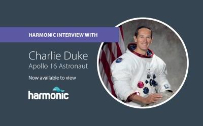 Harmonic meets Apollo 16 astronaut
