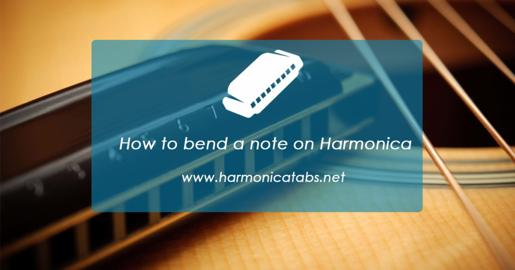 How to bend a note on Harmonica
