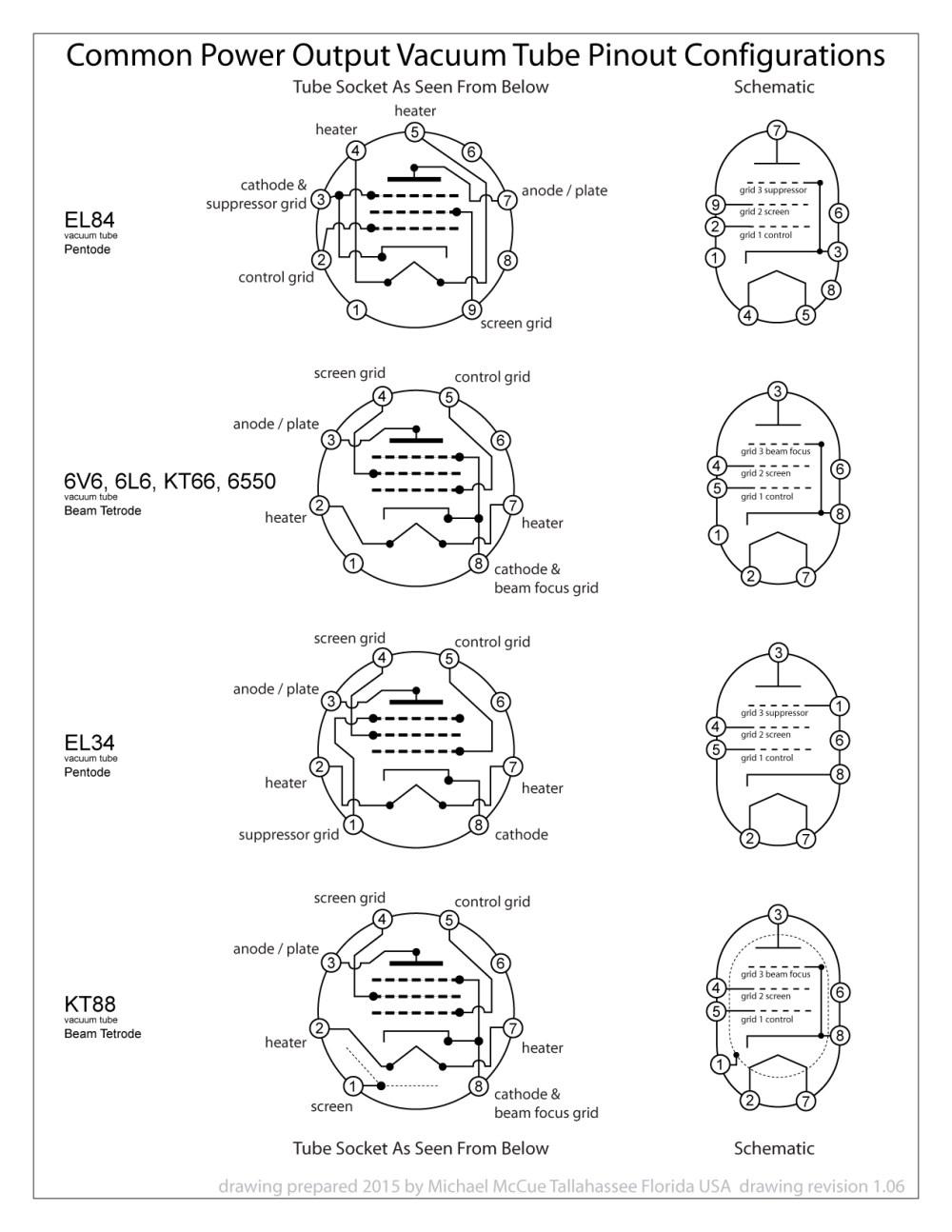 medium resolution of vacuum tube socket wiring