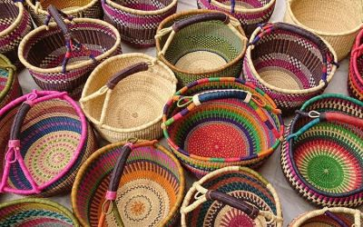 Natural Fibers for Precious Woven Basket Crafts