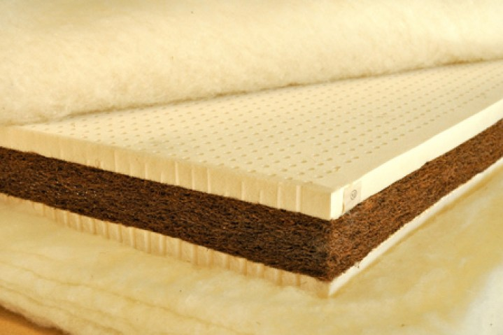 Coconut Fiber Material in Matress, source : www.soundariyamattresses.com