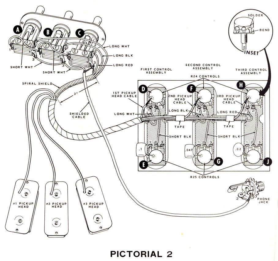 Harmony H75, H76, H77, H78, Heathkit TG46 wiring