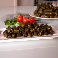 Mama's Warak Arish (stuffed grape leaves)
