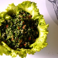 Tabbouleh...the real deal!