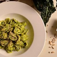 Tangy Tuscan Kale Pesto & Walnut Parm