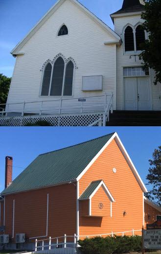 Hunter River United Church to Harmony House