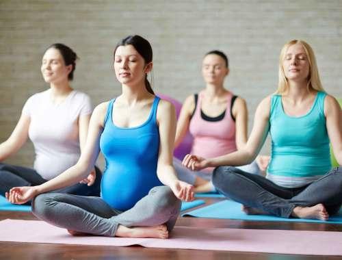 pregnancy yoga dartford