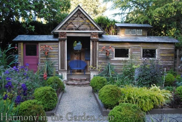 Freeland Tanner-Garden Designer-Napa-Garden Decor-Bespoke Garden Decor-garden temple-garden outbuildling