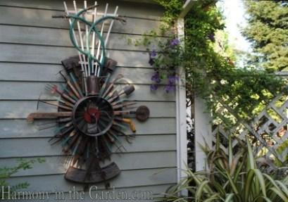 Freeland Tanner-Garden Designer-Napa-Garden Decor-Bespoke Garden Decor-garden temple-garden tool art-garden art-garden hose art