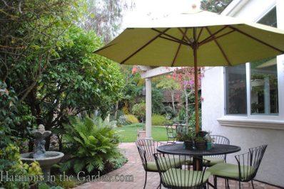 Small patio