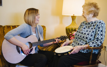Music Therapy to Attract Referrals in End of Life Care