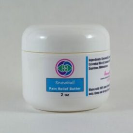Snowball  2 oz – Pain Relief Butter