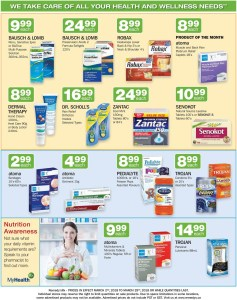 Monthly Pharmacy Deals