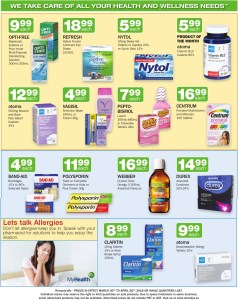 In-store Pharmacy deals this Month