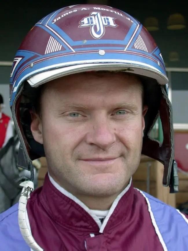 (USTA) Jim Morrill, Jr. is still the driving king of the New York Sire Stakes program.