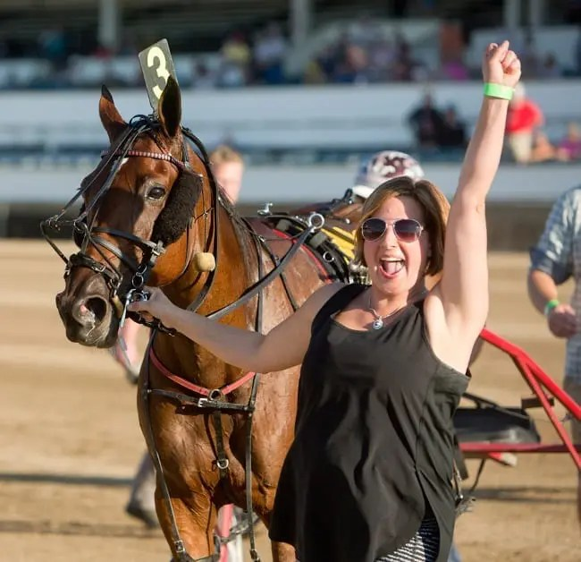 Nicole Pedden-MacQuarrie has looked after three generations of Jugette winner L A Delight's family. | Dave Landry
