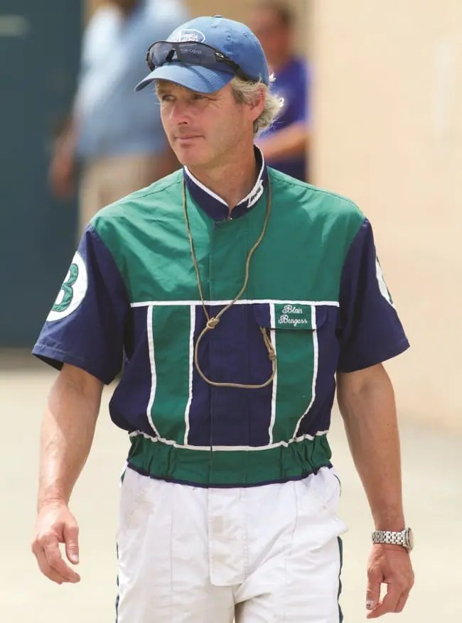 Blair Burgess will be officially inducted into the Canadian Horse Racing Hall of Fame in August   Dave Landry