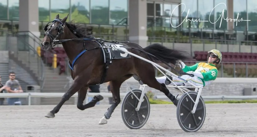 Fine Tuned Lady (Corey Callahan) set a career best 1:54 in her seasonal debut Saturday at The Meadows in one of four Pennsylvania Sires Stakes events for sophomore trotting fillies | Chris Gooden