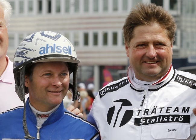Erik Adielsson and Svante Båth | Jeannie Karlsson/Sulkysport