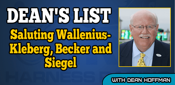Saluting Wallenius-Kleberg, Becker and Siegel