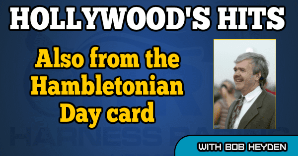 Also from the Hambletonian Day card
