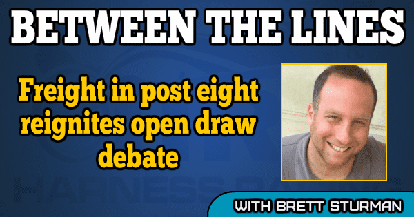 'Freight' in post eight reignites open draw debate
