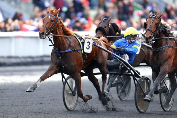 Gerard Forni | Belina Josselyn (with Bazire winning the 2018 Prix de France) is the first mare since Moni Maker to win the Prix d'Amerique. Moni Maker accomplished the feat exactly 20 years ago.