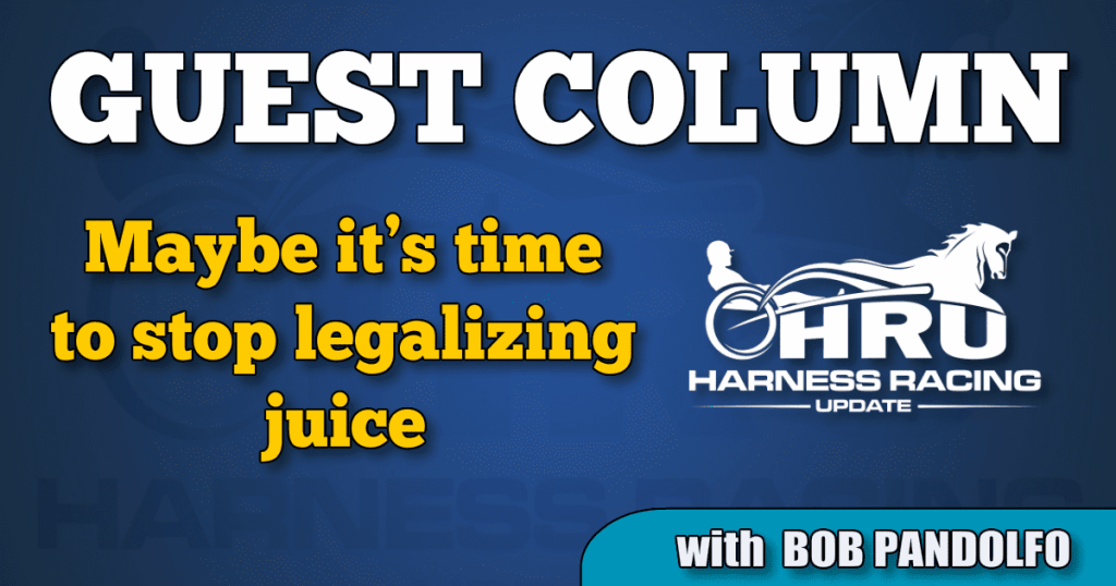 Maybe it's time to stop legalizing juice