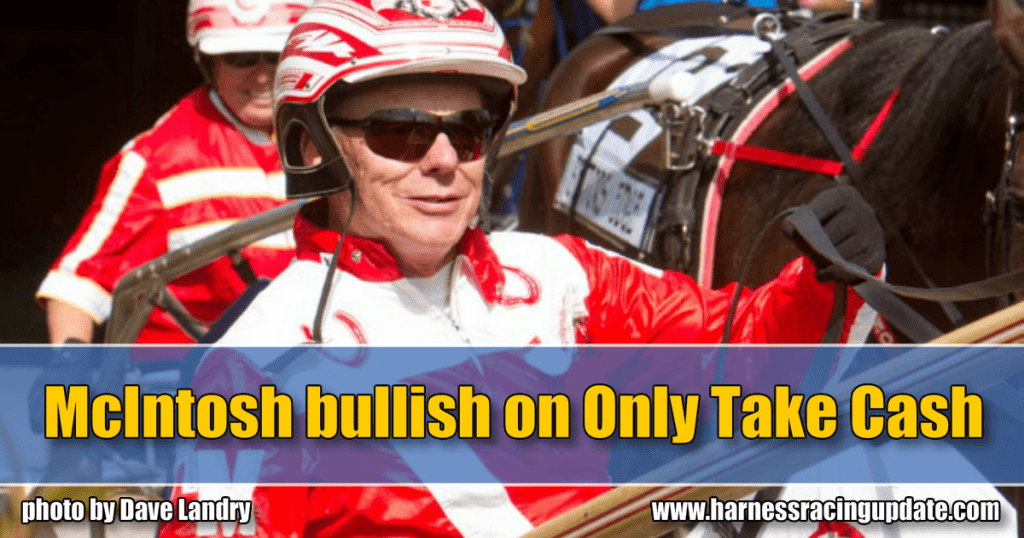 McIntosh bullish on Only Take Cash